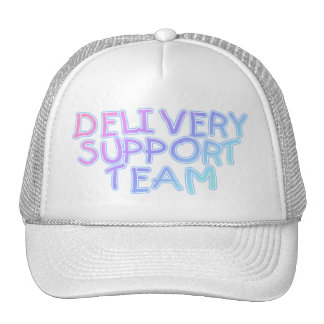 Delivery Support Team (Pastel) Hat