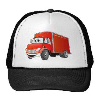 Delivery Truck (color) Cartoon Trucker Hats