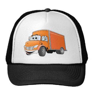 Delivery Truck Orange Cartoon Hats