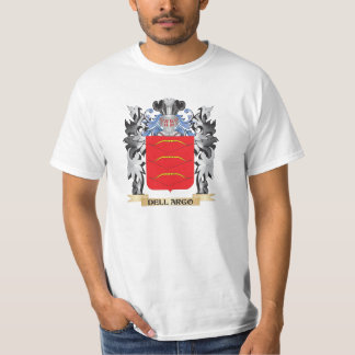 Dell-Argo Coat of Arms - Family Crest T Shirt