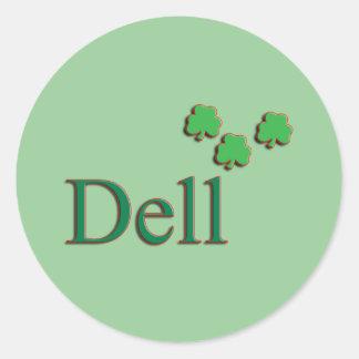 Dell Family Round Sticker