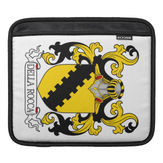 Della Rocca Family Crest Sleeves For iPads
