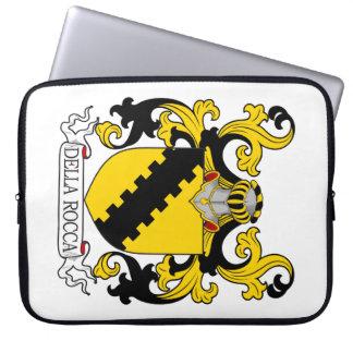 Della Rocca Family Crest Laptop Sleeve