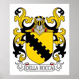 Della Rocca Family Crest Print