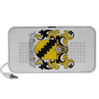 Della Rocca Family Crest PC Speakers