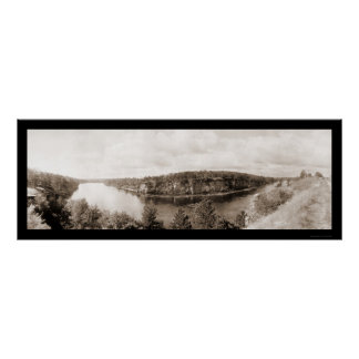 Dells of Wisconsin Photo 1911 Poster