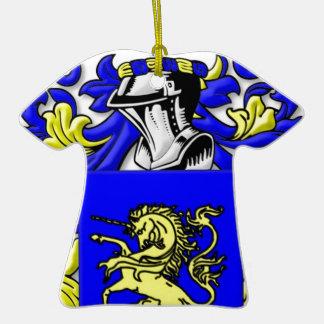 DelMonte Coat of Arms Ornaments