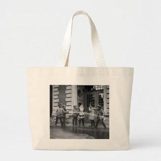 Delousing Santa Claus, 1920s Jumbo Tote Bag