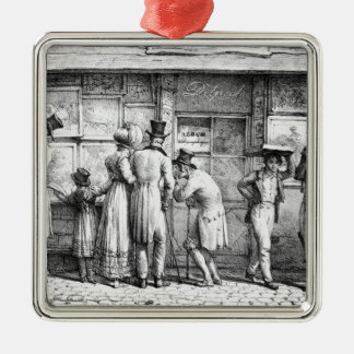 Delpech's Lithographic Print Shop, c.1818 Christmas Ornament
