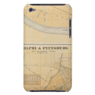 Delphi & Pittsburg with suburban towns Barely There iPod Cases