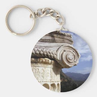 Delphi Temple Key Ring