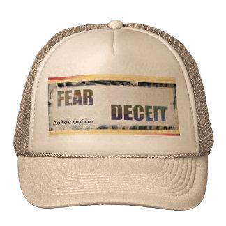 Delphic Maxim FEAR DECEIT Cap