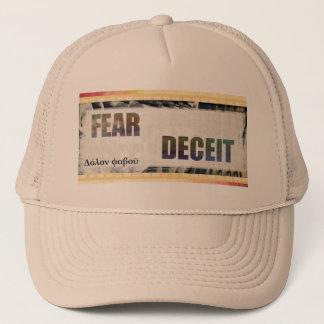 Delphic Maxim FEAR DECEIT Trucker Hat