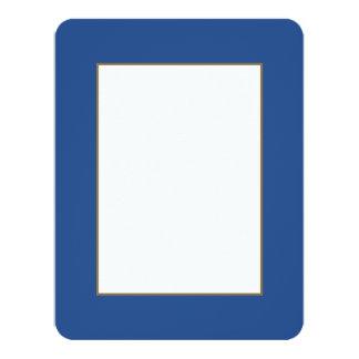Delphinium Blue in an English Country Garden 11 Cm X 14 Cm Invitation Card