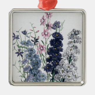 Delphiniums, from 'The Ladies' Flower Garden' Christmas Ornament