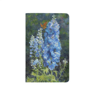 """Delphiniums"" Notebook"
