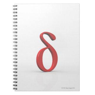 Delta 2 spiral notebook