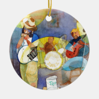Delta Blues Music Design Christmas Ornament
