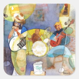 Delta Blues Music Design Stickers
