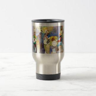 Delta Blues Music Design Travel Mug
