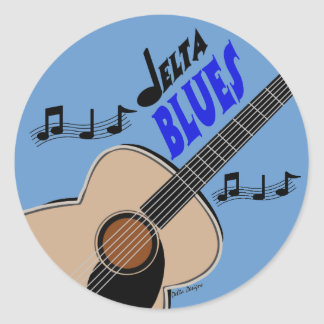 Delta Blues Sticker
