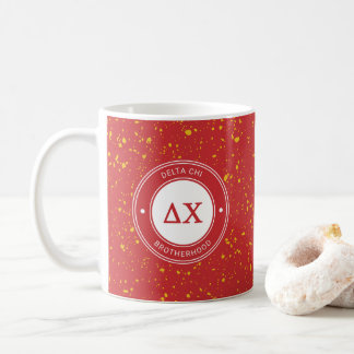 Delta Chi | Badge Coffee Mug