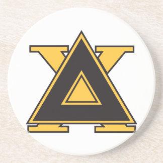 Delta Chi Badge Gold Coaster