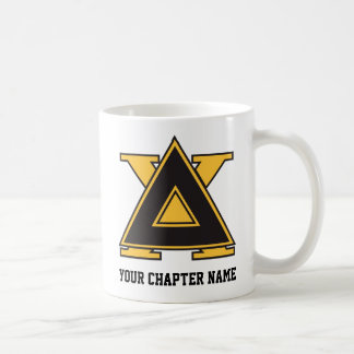 Delta Chi Badge Gold Coffee Mug