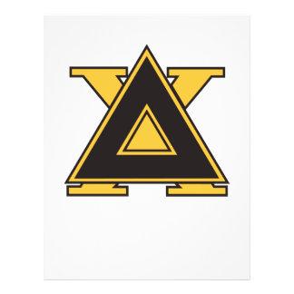 Delta Chi Badge Gold Flyer