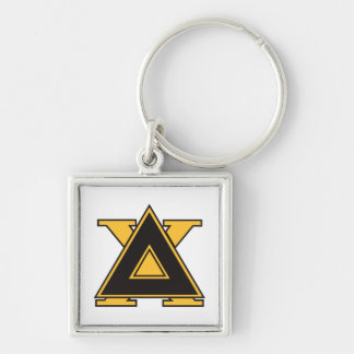 Delta Chi Badge Gold Key Ring