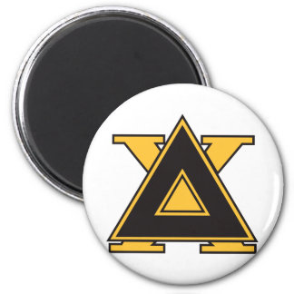 Delta Chi Badge Gold Magnet