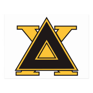 Delta Chi Badge Gold Postcard