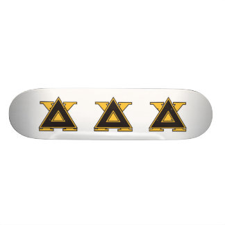 Delta Chi Badge Gold Skate Board Decks