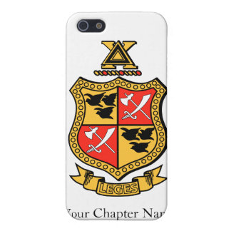 Delta Chi Coat of Arms Case For The iPhone 5