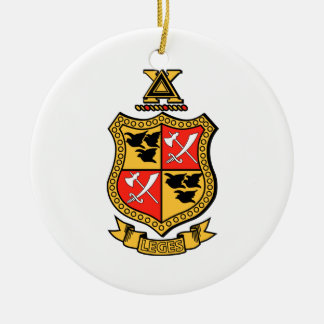 Delta Chi Coat of Arms Christmas Ornament