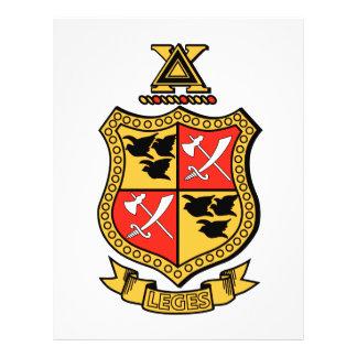 Delta Chi Coat of Arms Flyer