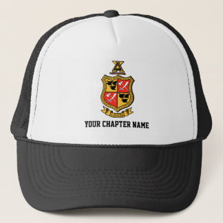 Delta Chi Coat of Arms Trucker Hat
