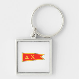 Delta Chi Flag Key Ring