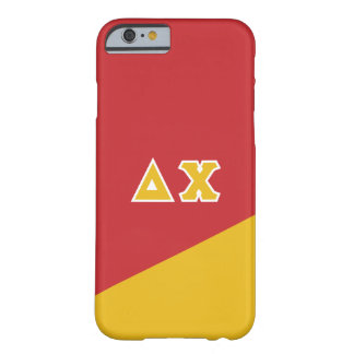 Delta Chi | Greek Letters Barely There iPhone 6 Case