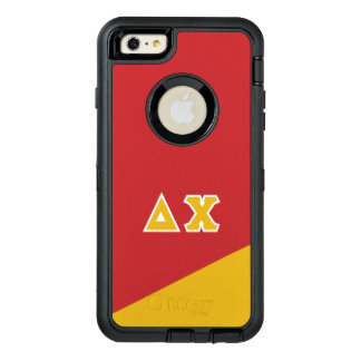Delta Chi   Greek Letters OtterBox Defender iPhone Case
