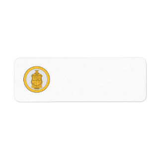 Delta Chi Life Loyalty Return Address Label