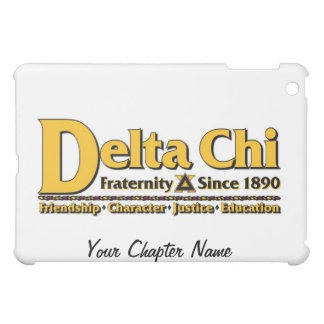 Delta Chi Name and Logo Gold Case For The iPad Mini