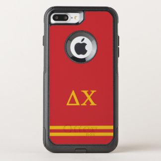 Delta Chi | Sport Stripe OtterBox Commuter iPhone 8 Plus/7 Plus Case