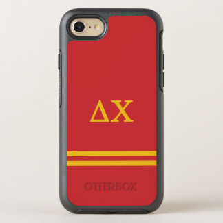Delta Chi | Sport Stripe OtterBox Symmetry iPhone 8/7 Case