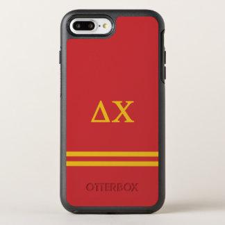 Delta Chi | Sport Stripe OtterBox Symmetry iPhone 8 Plus/7 Plus Case