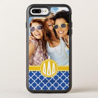 Delta Delta Delta | Custom Monogram Pattern OtterBox Symmetry iPhone 8 Plus/7 Plus Case
