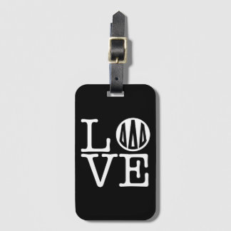 Delta Delta Delta | Love Luggage Tag