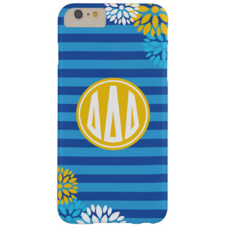 Delta Delta Delta | Monogram Stripe Pattern Barely There iPhone 6 Plus Case