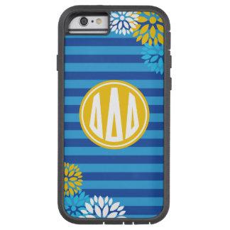 Delta Delta Delta | Monogram Stripe Pattern Tough Xtreme iPhone 6 Case