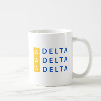 Delta Delta Delta | Stacked Coffee Mug
